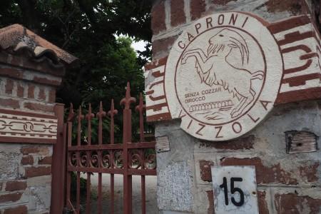 The gates of the old Caproni aeroplane factory.