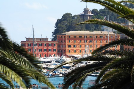 View from the Hotel Lido Palace, Santa Margherita Ligure