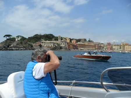 Shooting from the Invictus at Sestri Levante